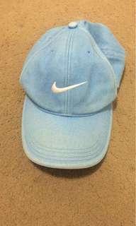 Nike light blue cap