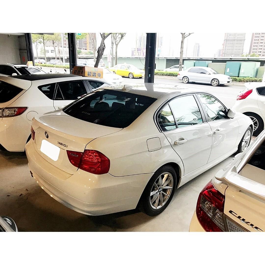2010年 BMW 小改款 320 新車價179萬 一手女用車 全額貸 超額貸 已認證快來電預約試乘