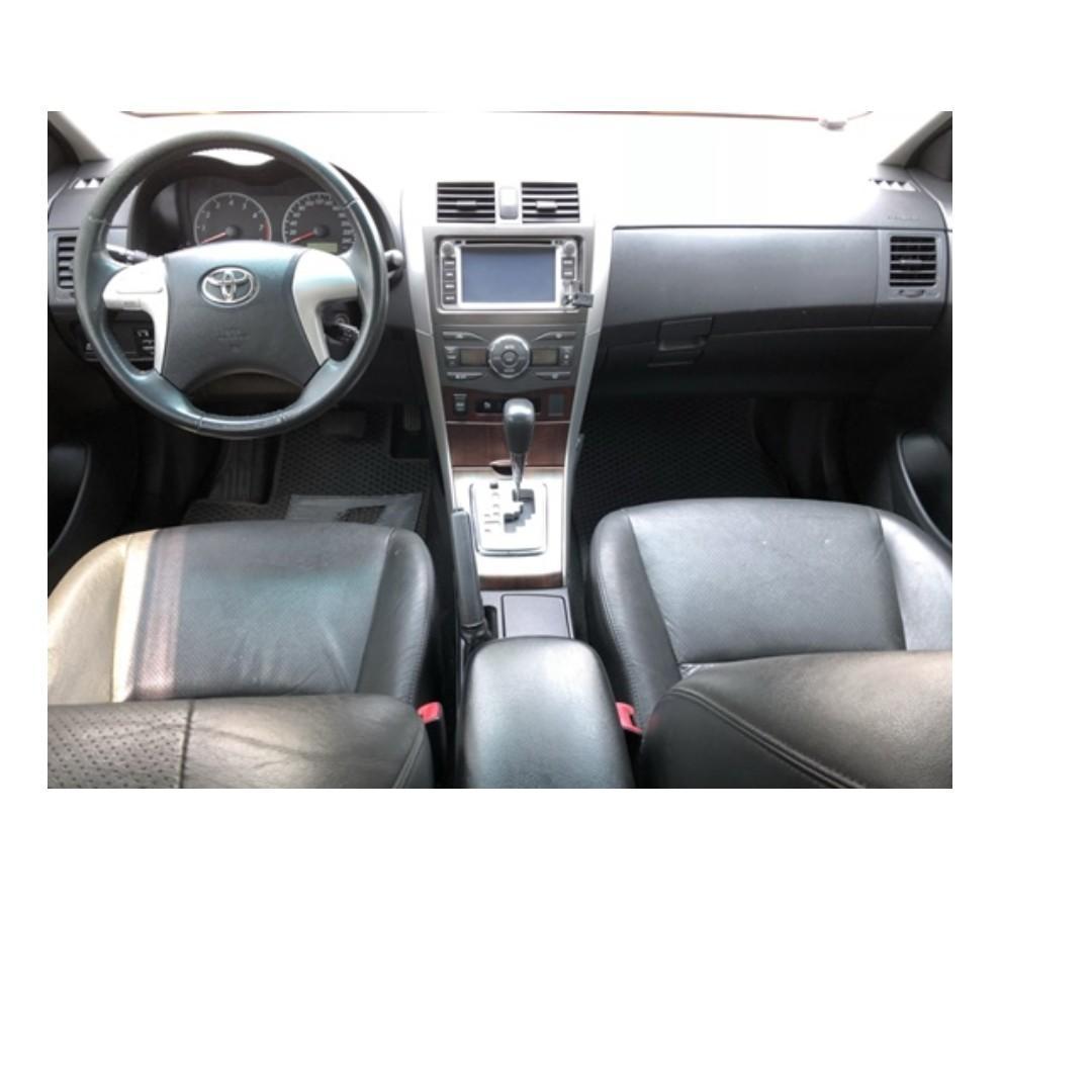 2010 Toyota Altis 1.8 黑 FB搜尋 : 『阿文の圓夢車坊』