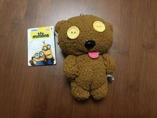 Minions Bob 的熊公仔Tim 散紙鎖匙包