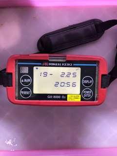 🚚 GX-8000便攜式多氣體監測儀 Riken Keiki型號GX-8000