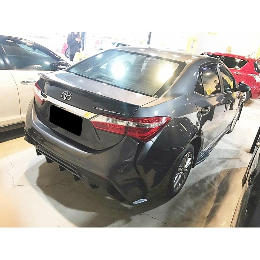2013年 TOYOTA ALTIS 稀有X派大包 吸睛必備良駒 全額貸 超強力過件團隊 幫你一圓買車夢 快來電預約!