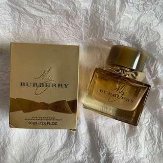 🚚 🧸Burberry My Burberry女性淡香精 金色亮片限量版 90ml