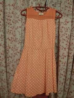 Pink kid's dress