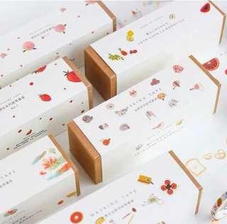 [PO] set of 8 themed washi tapes