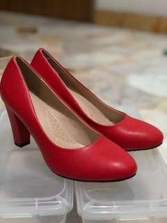 Anna Nucci Red Heel
