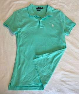 🚚 Polo Ralph Lauren polo shirt in turquoise