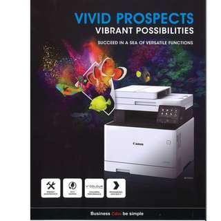 Full colour 4-in-1 copier system