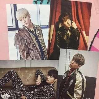 SHINee World J Official Postcards (DxDxD Special Edition 2016)