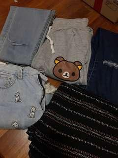 🚚 QYOP jeans sweatpants shorts