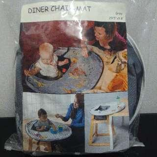 Baby High chiar diner chair mat
