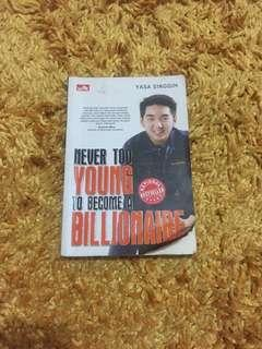 Never too young to become a billionare yasa singgih