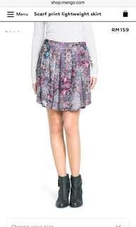 New with tag MNG mango collection floral skirt US size 4 #FEBP55