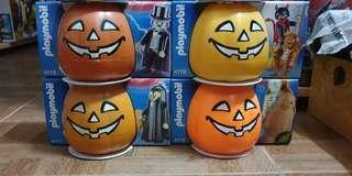Playmobil Halloween Minifgure Lot of 4pcs