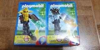 Playmobil 4848 & 4849 Temple Guard Minifigure Lot of 2pcs