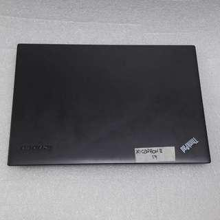 $799 Lenovo ThinkPad Carbon X1 Carbon 3 Preowned Intel Core i7-5th Gen with Intel HD Graphics