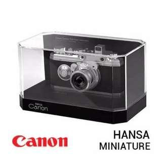 SOLD OUT-CANON HANSA MINIATURE
