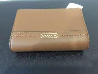 Coach OLV Leather Medium Wallet