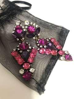 Brand new costume jewelry earrings