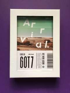 Arrival GOT7 Official Album (Flight Log)