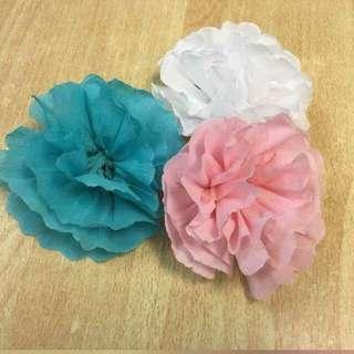 Crepe Paper Rose for Wedding Backdrop, Decoration