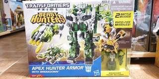 Transformers Prime Beast Hunters Apex Hunter Armor with Breakdown