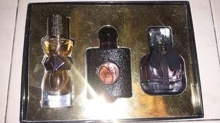 Yves Saint Laurent (YSL) Perfume Three Sets Mon Paris