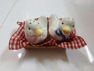 Duckie Salt and Pepper shaker set