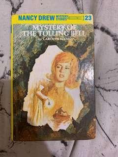 Nancy Drew Mystery Stories: Mystery of the Tolling Bell by Carolyn Keene