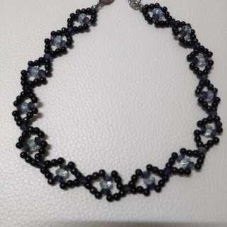 海藍寶紫晶舒俱萊項鏈