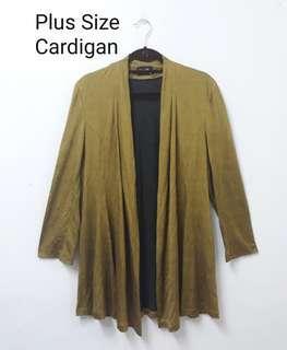 Plus size cardigan