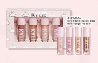Kylie lip gloss set 4 in 1