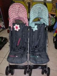#FEBP55 Twin stroller