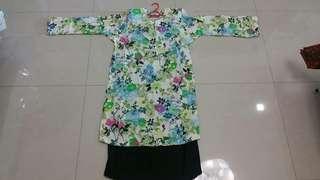 Handmade Baju Kurung Flora