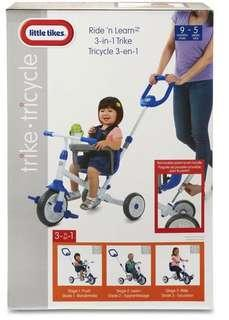 Little Tikes Learn to Ride 3 in 1 - Like New! 9 mths - 5 yrs