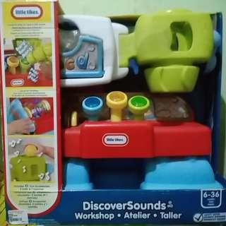 Little tikes discover sound
