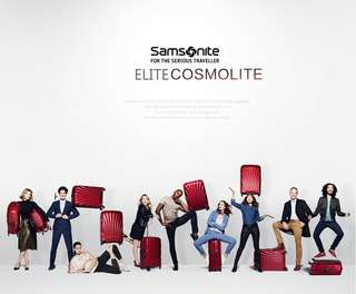 2aa8826619 Samsonite universal wheel rod box light suitcase 20 inch