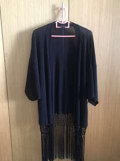 MONKI / draped cardigan / XS