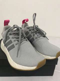 0542bf27a16a2 NMD R2 Trainers Grey Two