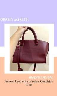 Charles and Keith handbag/slingbag