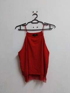 Nichii Red Sexy Top