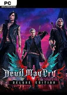 🚚 Devil May Cry 5 Deluxe Edition STEAM PC
