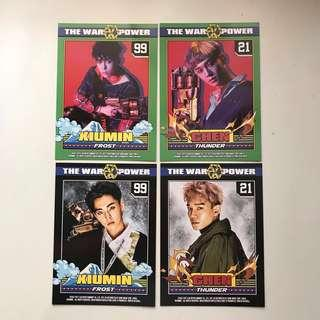 EXO - The War Postcards (Loose Items)