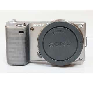 Sony Nex-5 Body Only Like New SC 2rb Lengkap Box