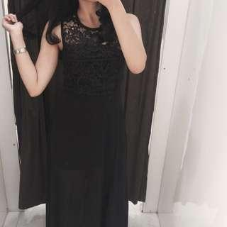 Longdress Nyla (black)