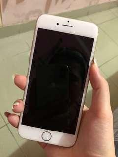 Apple iphone 6 16GB gold second
