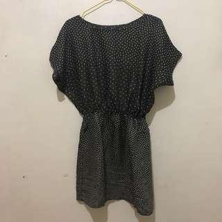 Polkadot Semi Dress