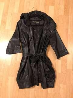 Italy Clelia sheep leather belted jacket - reduced price
