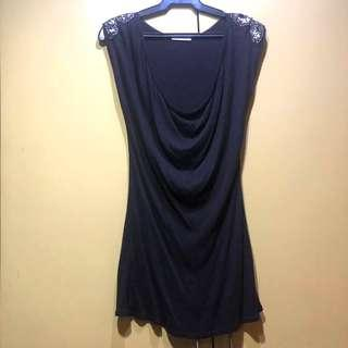 PROMOD Shoulder Beaded Dress