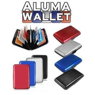 Aluma Wallet / Aluminum Card Holder / Name Card Holder / Credit Card Holder/Organizer